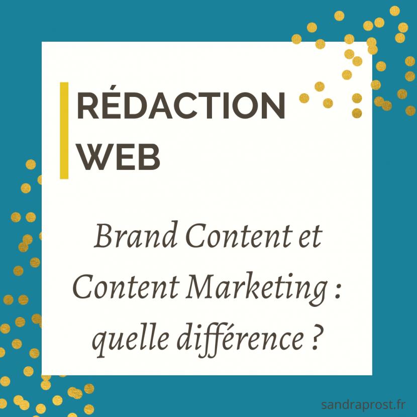 Brand Content et Content Marketing : Quelle différence ?