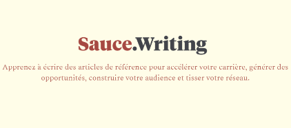 Logo Sauce Writing